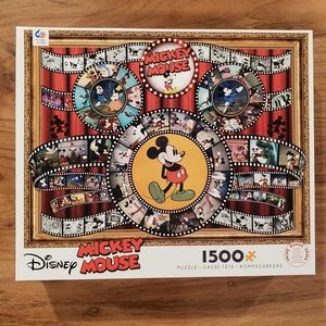 Disney Mickey Mouse 1,500 Piece Puzzle!